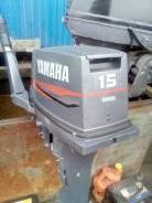 Yamaha. 15,00л.с., 2-тактный, бензиновый, нога S (381 мм), 1999 год