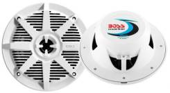 """Аудиоколонки морские 200W 6.5"""" 2-полосные, белые, 2 шт, BOSS, MR62W"""