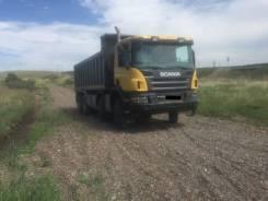 Scania P400. , 13 000куб. см., 32 500кг., 8x4