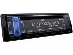 Автомагнитола JVC KD-T801BT/Блютуз 1DIN USB/MP3/Android