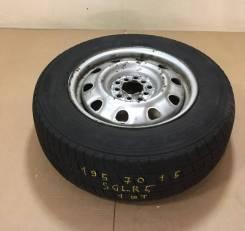 """Колесо на универсальном диске Goodyear Ice Navi NH 195/70R15. 6.0x15"""" 5x100.00, 5x114.30 ЦО 62,0мм."""