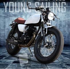 Ретро мотоцикл Stallions Centaur 150repl