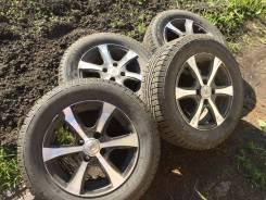 """Комплект зимних колёс Nokian Nordman RS2 на литых дисках. 5.5x14"""" 4x100.00 ET45 ЦО 56,1мм."""