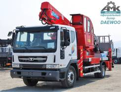 Horyong Sky. Daewoo Novus 4x2 автовышка 45м Horyong SKY450, 5 890куб. см., 45,00м.