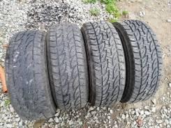 Bridgestone Dueler A/T 694. грязь at, 2015 год, б/у, износ 30%