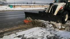 Снеговой отвал для экскаватора-погрузчика