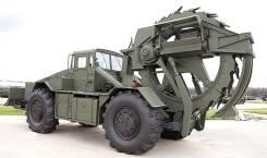 ТМК-2. Траншейная машина колесная. Бара, траншеекопатель