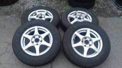 """Японские колеса 175/80R15 Blizzak. 5.0x15"""" ET45 ЦО 66,1мм."""