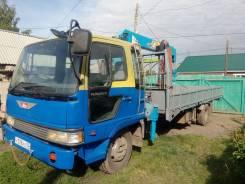 Hino Ranger. Продам грузовик с манипулятором, 7 000куб. см., 5 000кг., 4x2