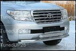 Защита переднего бампера - Toyota Land Cruiser 200 #2
