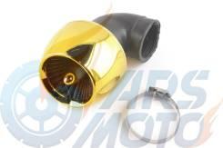 Фильтр воздушный (нулевик) в-42mm, 90, турбина (золото)