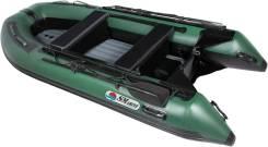 Лодка SMarine AIR-365 (зеленый/черный) IB made in Korea