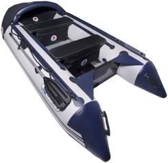 Лодка SMarine MAX-380 (D синий/серый) A/L made in Korea