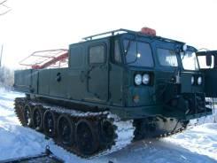 Продается гусеничный тягач транспортер АТС-59 с бурильной установкой