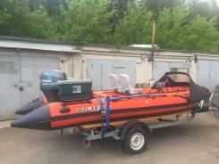Лодка Solar 555 + Yamaha 60 водомет