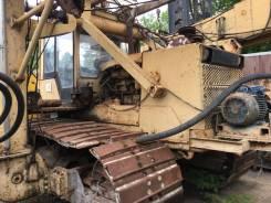Строймаш СП49Д. Сваебойный копёр СП-49Д на базе гусеничного трактора-болотохода «ЧТЗ», 10 000куб. см., 12 000кг.