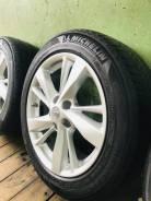 """Продам комплект литых дисков Allnk R17 с резиной Michelin 215/55/R17. 7.0x17"""" 5x114.30 ET50"""