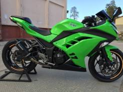 Kawasaki Ninja 300. 300куб. см., исправен, птс, с пробегом