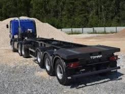 Тонар 974623. -21 полуприцеп контейнеровоз, 33 000кг.