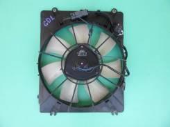 Вентилятор охлаждения радиатора. Honda Jazz, GD1 Honda Fit, GD1, GD2, GD3, GD4 L12A1, L13A1, L13A2, L13A5, L15A1
