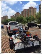 Прицеп для перевозки мотоциклов, квадроциклов и багги ATV UTV