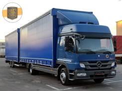 Mercedes-Benz Atego. Мерседес Атего 1224, автопоезд 120 м3, 2013г, г/п 11.5 тонн, 6 374куб. см., 11 500кг., 4x2