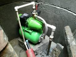 Ручное бурение скважин, без заезда.