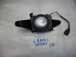 Фара противотуманная правая Chevrolet Lanos(круглый) Sport