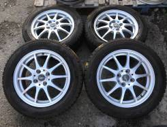 "A-Tech Schneider R15 4*100 5.5j et45 + 175/65R15 Dunlop DSX-2 2014. 5.5x15"" 4x100.00 ET45"