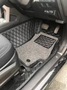 Коврики в салон Subaru Forester SJ 2013-2018 ЭКО Кожа 3D Качество!