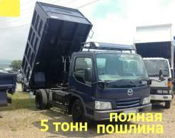 Mazda Titan. 4,6л., самосвал 5 тонн, 4 600куб. см., 5 000кг., 4x2