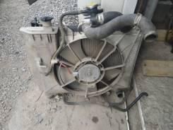 Радиатор охлаждения двигателя. Toyota Vitz Toyota Probox Двигатель 1NZFE