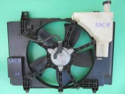 Вентилятор охлаждения радиатора Nissan Tiida SNC11/SC11/NC11, HR15DE