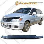 Дефлектор капота Nissan Presage HU30, MU30, NU30 1998-2001 (Мухобойка)