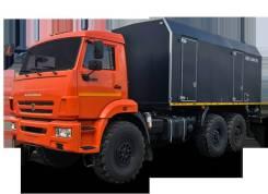 КамАЗ 43118 Сайгак. Передвижная парогенераторная установка КамАЗ 43118 (ППУ ППУА), 11 762куб. см., 12 000кг., 6x6