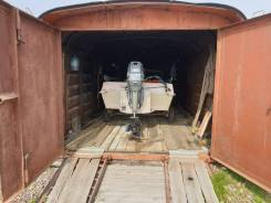 Лодка казака 5 с мотором ямаха 60