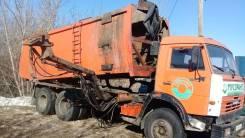 КамАЗ. Камаз мусоровоз, 10 798куб. см.