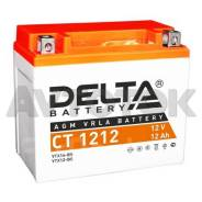 Аккумулятор Delta CT1212 емк.12А/ч; п. т.180А (YTX12-BS, YTX14-BS)