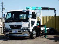 Nissan Diesel. Эвакуатор с крановой установкой UD, 6 900куб. см., 10 000кг., 6x2. Под заказ