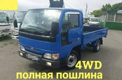 Nissan Atlas. 4WD, борт 1,5 тонны, 3 200куб. см., 1 500кг., 4x4