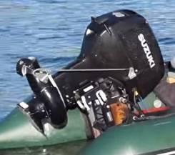 Продается двигатель suzuki 40 с водометом + редуктор с винтом.