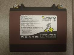 Мото аккумулятор литиевый YTX12 12Ач 420А LFP12-BS (LiFePO4)