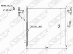 Радиатор кондиционера Infiniti QX56/Nissan Armada/Nissan Titan 04-