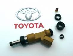 Инжектор, форсунка. Toyota: Land Cruiser Prado, Land Cruiser, FJ Cruiser, Tundra, 4Runner, Coaster Lexus GX460, GRJ158 Lexus GX400, GRJ158 1GRFE, 6GRF...