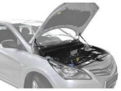 Упор капота! 2шт., крепеж в комплекте\ Hyundai Solaris 10> UHYSOL012_