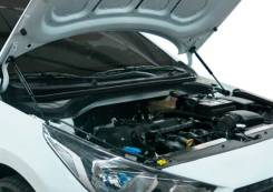 Упоры капота! 2 шт. с креп.\ Hyundai Solaris 17> UHYSOL021_