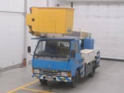 Продам в разбор грузовик Mitsubishi Canter автовышка 16 метров FE337В