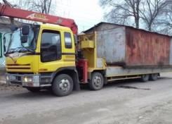 Грузоперевозки. Перевозка гаражей, контейнеров и негабаритных грузов