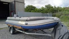Продам тоннельную лодку ПВХ Выдра 550 Jet