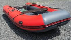 Лодка ПВХ Angler REEF 360 НДНД красно-черная